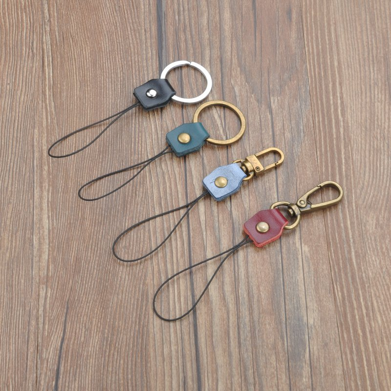 Mobile phone lanyard head USB flash drive anti-lost lanyard key ring