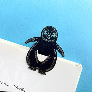 MARK TAIWAN Mai Mai Zoo - Imperial Penguin (Paper Bookmark)