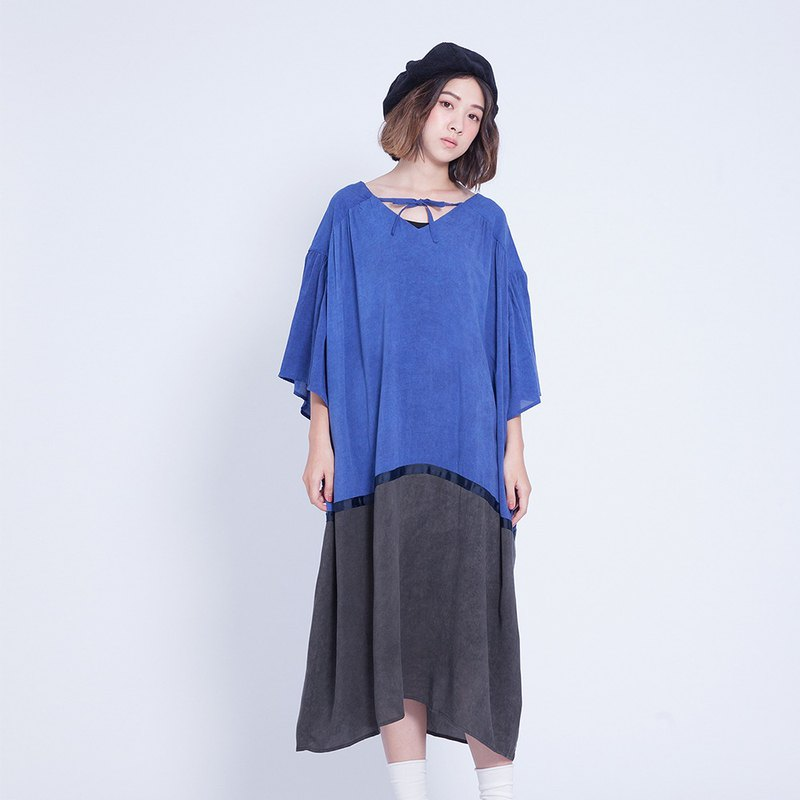 Corsage Shen _ goose layer dress Taiwan design design