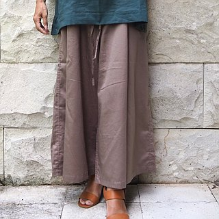 New color gray / wide pants to adjust waist with a long string