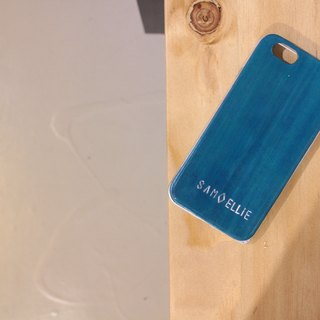 Make Your Choicesss Italian handmade leather phone case