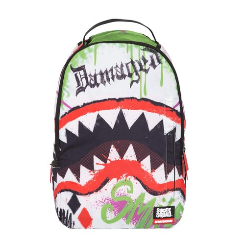 [SPRAYGROUND] DLX DC co-branded series Joker Shark clown shark pen backpack
