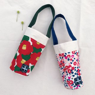 water bottle BAG / flower