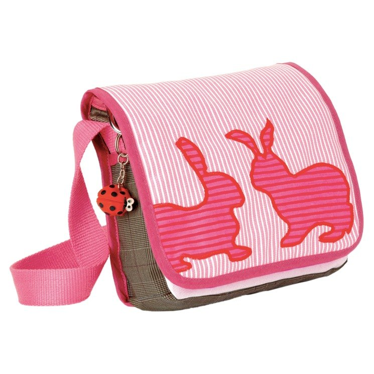Century German brand Käthe Kruse Bunny Pink Bunny Child shoulder bag