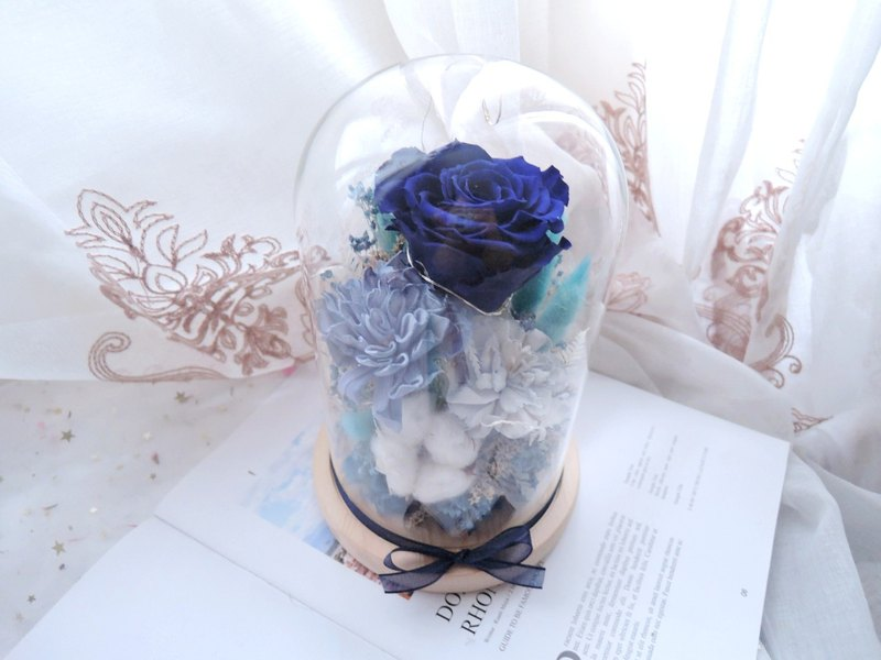 [Sea of Hearts] Eternal Rose Glass Night Light / Valentine's Day / Confession / Anniversary