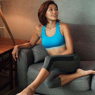 Carrie Sports Bra-Blue