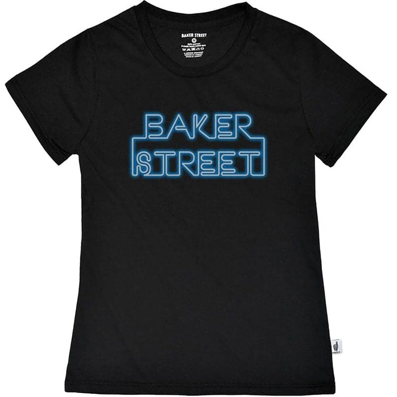 British Fashion Brand 【Baker Street】Neon Board T-shirt