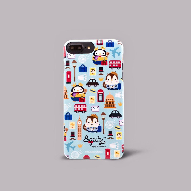 iPhone 7p / 8p Squly & Friends Slim Fit, Double-Sided Printing, Phone Case, Phone Case