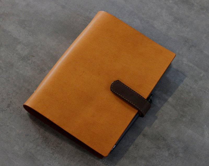 A5 leather loose-leaf note book