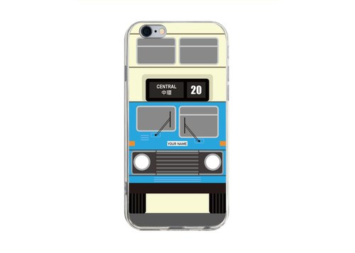 Hong Kong Bus A - iPhone X 8 7 6s Plus 5s Samsung S7 S8 S9 Mobile Shell