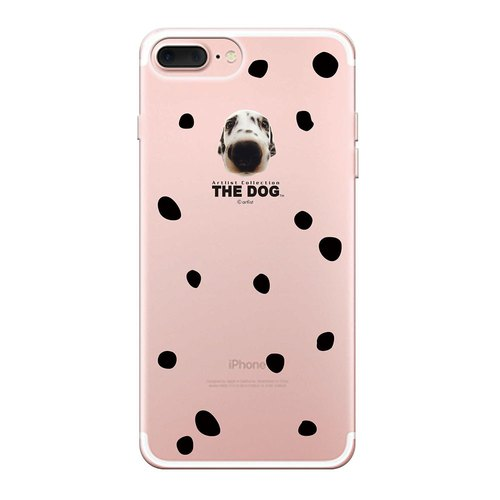 The Dog big dog license - TPU phone shell, AJ18