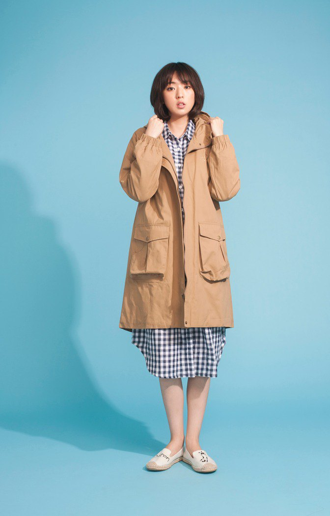 Spring and summer new shop under cotton pocket coat 123F602