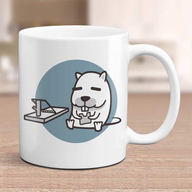 Lazy energy [rat] 12 Zodiac mugs / customizable text