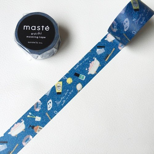 maste and paper tape Multi Amazing Life Series [Bathroom (MST-MKT162-C]]