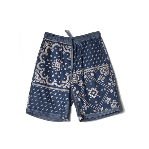 oqLiq-Displayinthelost– Amoeba Double Face Shorts