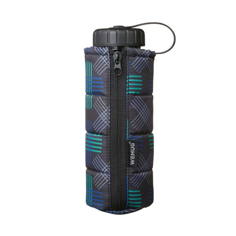 Pattern J500 Jacket Water Bottle-- Berlin Black