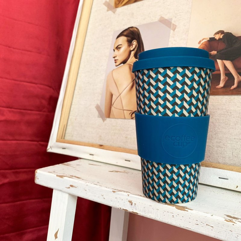 [Natural Bamboo Fiber] Coffee Cup | 16oz accompanying cup (Nathan Road)