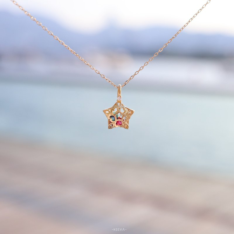 •Amulet Star Necklace•