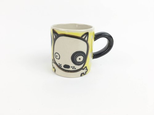 Nice Little Clay Mug_Black Wheel 0133-07