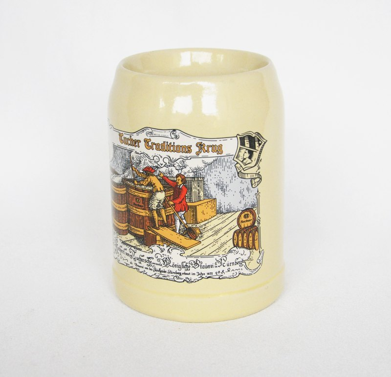 Early German beer mug flea 1992