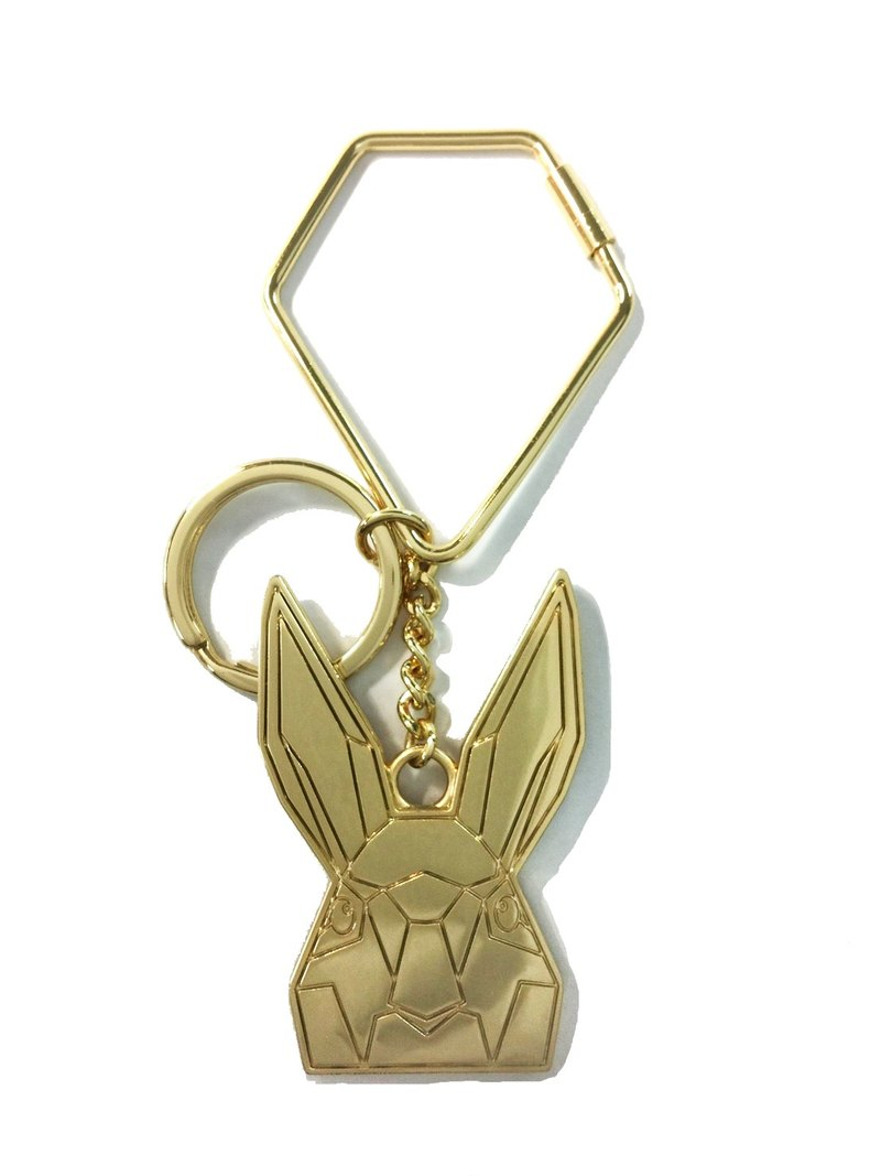 Khieng Atelier Diamond Rabbit Charm - Gold