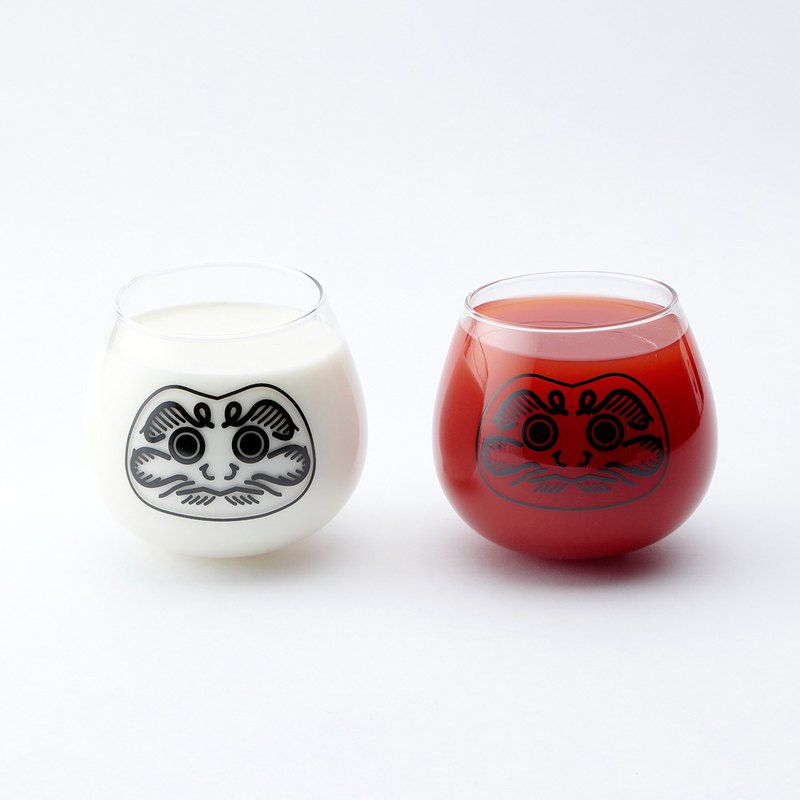 Daruma Glass / Set of 2