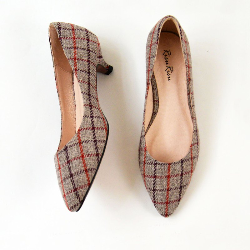 Imported Fabrics from Japan, Low heel shoes