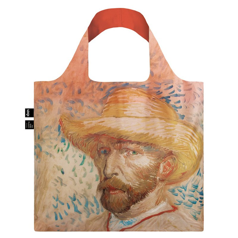 LOQI Shopping Bag - Museum Series (Vangu - Powder VGSH)
