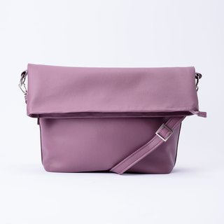 Folded Tote Bag Lavender Purple / Lavender Purple