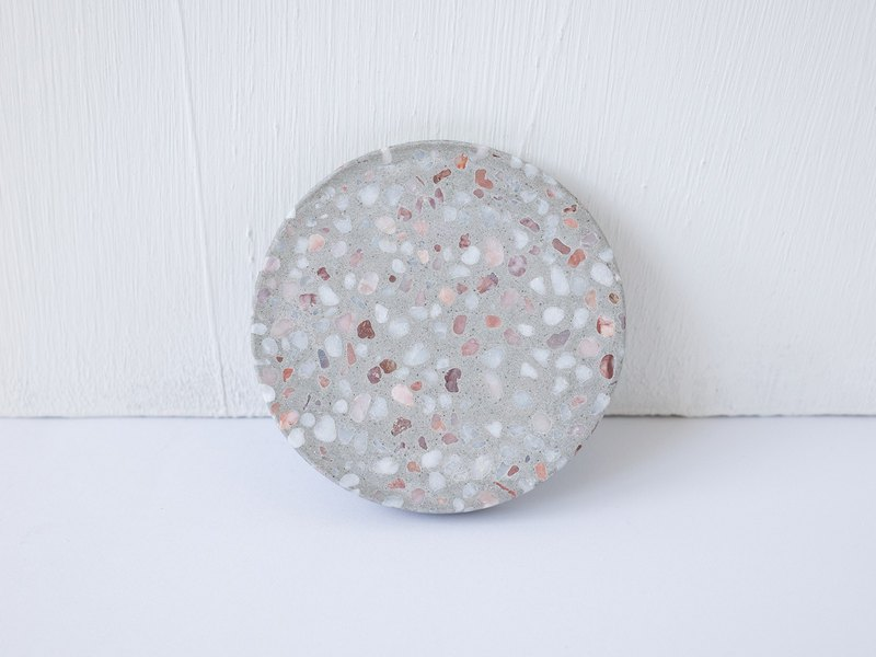 No Sight Room│The only Wuxi rose lime terrazzo cement coaster
