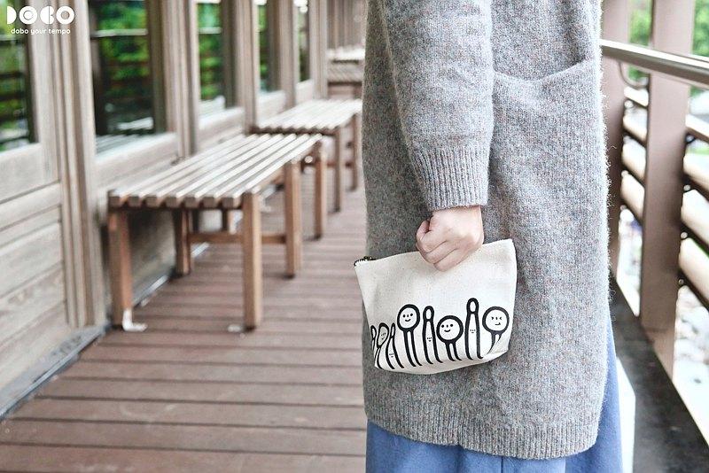【女人節限定】【DoBo】微笑琴槌系列-拉鍊萬用包