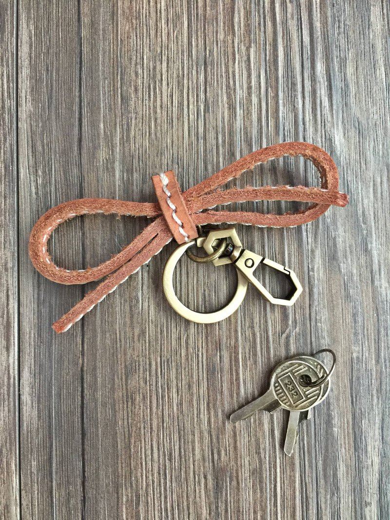 Nora bow key ring