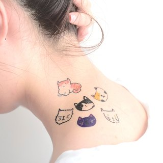 Cats temporary tattoo buy 3 get 1 Cute tattoo party wedding decoration gift