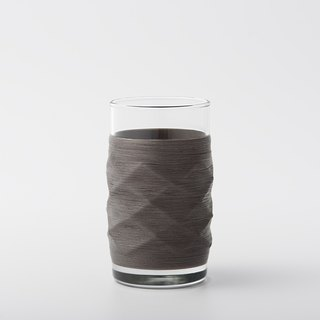 Line processing PUNNDLE line cup feel gray Plaid