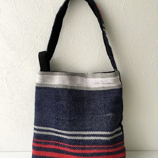 "Also becomes purse to become even yukata ""hand-woven tricolor mini bag"" 1"