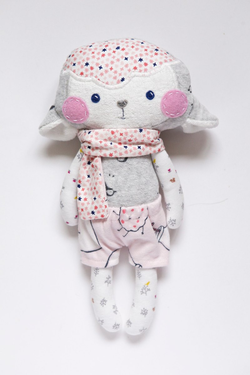 [clothing commemorative puppet] sheep