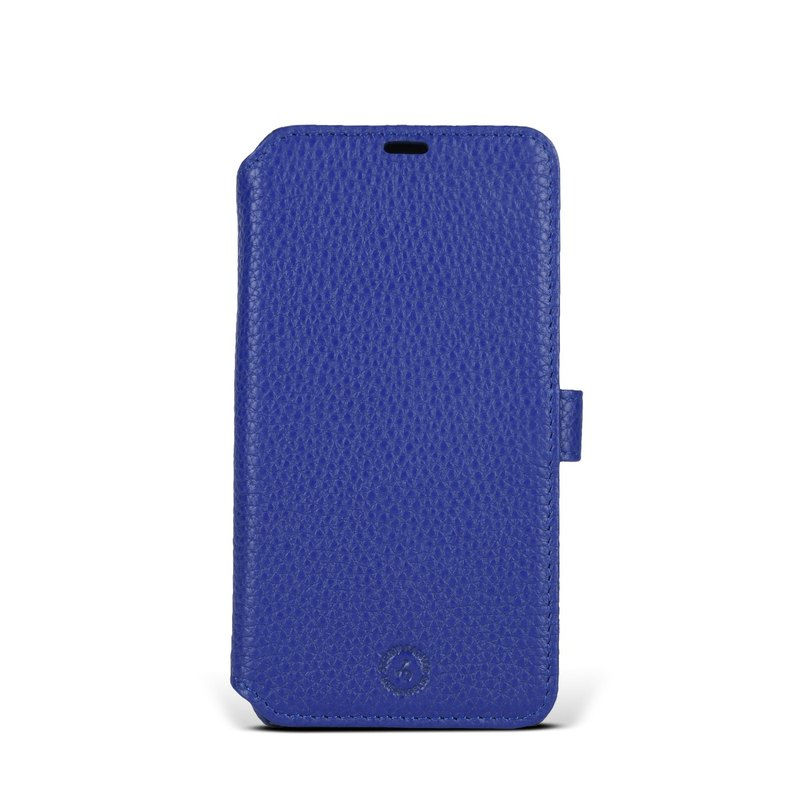 APPLE iPhone X Style-09098 Hardshell Rollover Leather Case