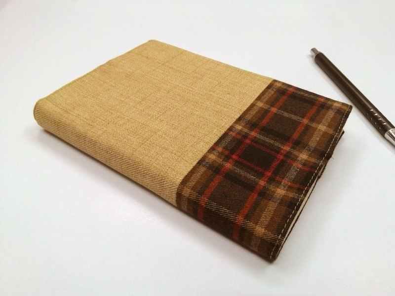 Exquisite A6 cloth book clothing ~ light goose yellow (single product) B04-032