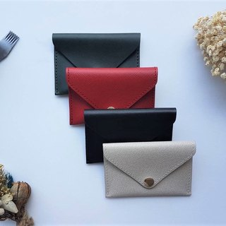 Envelope Button Business Card Holder / Card Holder / Coin Purse