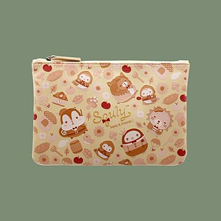Squly Zip Pouch storage bag universal bag cosmetic bag small bag clutch bag