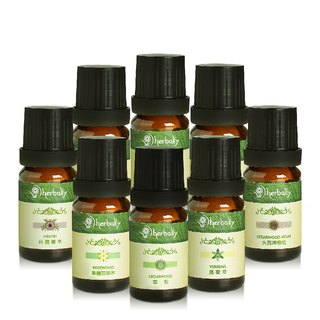 [Herbal True Feelings] Fresh and Relaxing Series (Single Essential Oil 10mlx8) (P4611319)