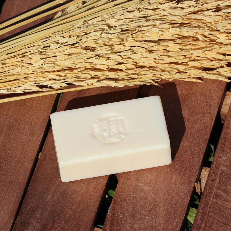 Rice Bran Naked Soap|Cold Handmade Soap