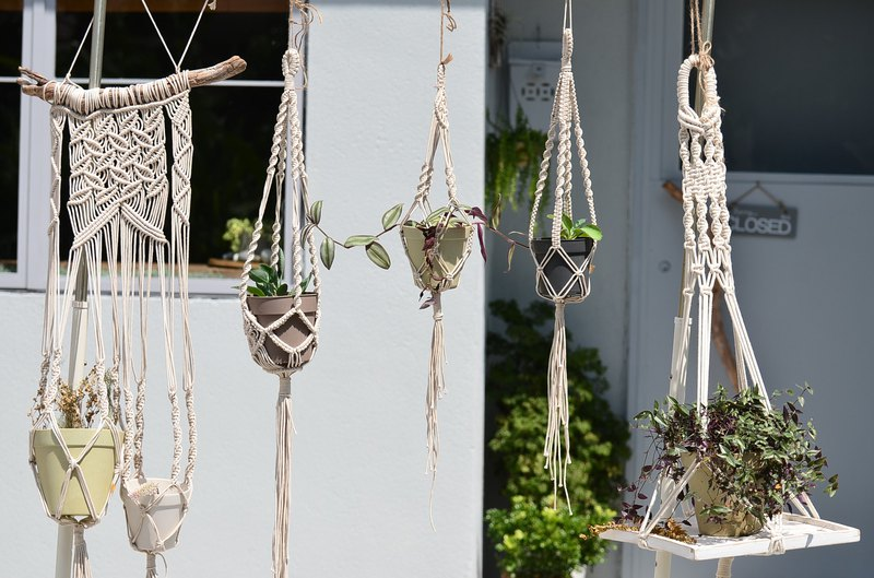 【Workshops】Macrame weaving plant hanging basket workshop