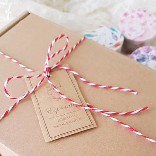 [National Free Shipping] 6 fold Christmas blessing bag -1200 yuan exchange gift paper tape stickers all inclusive