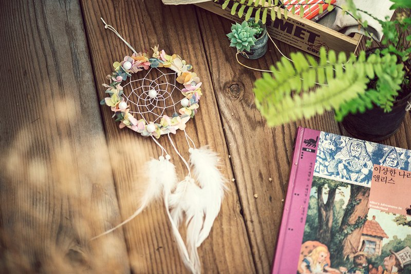 Flower Dreams, Dreamcatcher, Everlasting Flower, Valentine's Day Wedding, Small Things, Birthday Gift, Housewarming
