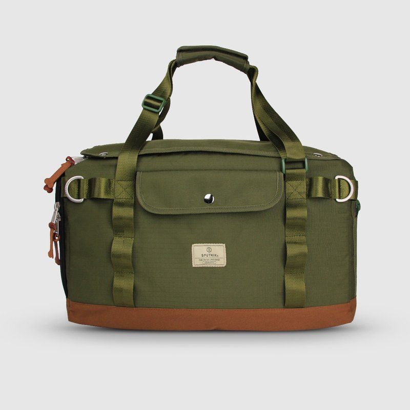 SPUTNIK Pet Outing Bag - Green (M)