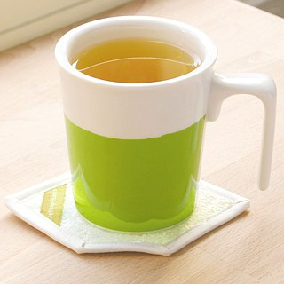 [Drink good office] Lime Tsui kiss mug cotton coasters ceremony