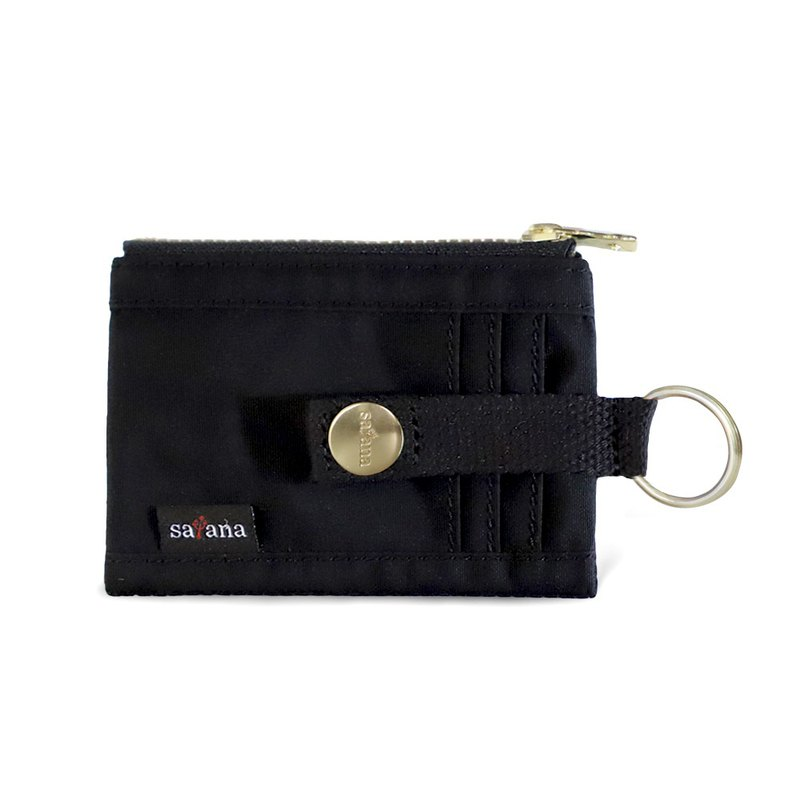 Satana - Soldier Colorful Card Holder / Coin Purse - Black