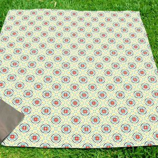 【Nuhox】 roar lion x 【QUEMOLICA】 Curl force card joint picnic mat Let's Picnic! Four Seasons - Autumn carpet game pad