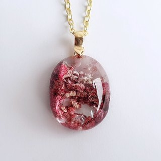 Gemstones, plum blossoms, natural minerals, red ghosts, brass, necklaces